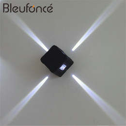Wholesale Cross Wall Light - Modern Cross LED Wall Lamp Outdoor Waterproof IP65 Wall Lamp Home Decoration Light 4w led Lighting Public Places Lighting
