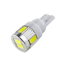 Wholesale 175 led - T10 led 194 168 2825 W5W 175 158 Bulb 5050 10 SMD LED Light ,12V For Map Lamp License Plate Dashboard Parking Lights 2Pcs lot