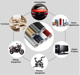Wholesale Volvo Stickers - 3D Carbon Fiber Vinyl Film Car stickers Volvo S40 S60 S70 S80 S90 V40 V50 V60 V90 XC60 XC70 XC90