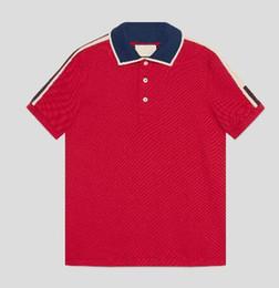 Vêtements express occasionnels en Ligne-Express 2018 Nouveaux Hommes Casual Polo Shirts plus la taille 3XL Solid Polos black Clothing Tops Tee
