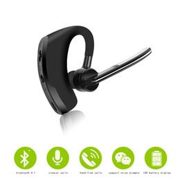 Бизнес Беспроводной Bluetooth мини наушники интеллектуальные наушники с микрофоном Спорт бас гарнитура для xiaomi huawei ihpone смартфон от