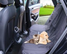 2019 gestrickte autositzbezüge Auto-Haustier-Auflagen-Rücksitz-Abdeckungen für Hundekatzen-Haustier-Sitz-Abdeckungen tragen-beständiges wasserdichtes verhindern das Verkratzen schützen Autositze 2PCS