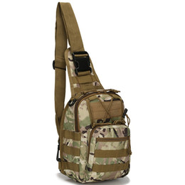 Tasche del sistema delle molle online-Generic Utility Military Tactical Gear Borsa a tracolla Sling Chest Bags Sacchetti Pack MOLLE Tactical Gear Attachment System Daypack