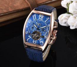 Wholesale dark green jewelry - 2017 NewTop mechanical automatic Luxury Brand Wristwatches Automatic Mechanical Sport Mens Watch Men's Watches