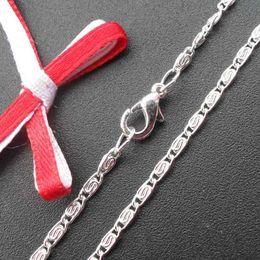 Wholesale Iron Cross Chain - DIY Jewelry fashion accessories silver net neckalce chains NS10228 420x2.5mm 50pcs lot