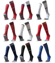 Wholesale Fiber Socks - 2018 World Cup soccer socks adults kid Argentina Belgium Calcetine germany Colombia Mexico Japan Sweden Socken Spain Meias 17 18 Chaussettes