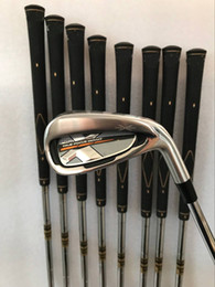 Wholesale Dynamic Gold Shafts Set - 2018 Golf Clubs XXIO MP1000 irons Set 456789PAS With Dynamic Gold Steel S300 shaft 9PCS XX10 Golf Irons Right hand