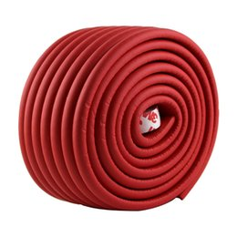 Wholesale Security Pads - 2m Baby Child Kids Table Desk Furniture Edge Corner Safety Guard Protection Security Protector Wide Cushion Pad p(red)