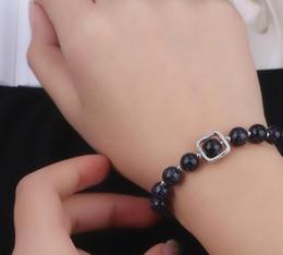 trasferimenti blu Sconti caldo stile stella blu sabbia trasferimento perline braccialetto luna stella femminile studente mani decorate moda classica eleganza delicata