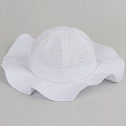 a14b41ac593 Lovely Toddler Infant Kids Sun Cap Summer Outdoor Baby Girls Boys Sun Beach  Cotton Dot Hat