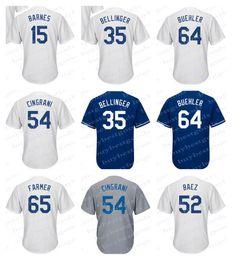 Wholesale Jerseys 52 - Men's Los Angeles Jerseys 52 Pedro Baez 15 Austin Barnes 35 Cody Bellinger 64 Walker Buehler 54 Tony Cingrani 65 Kyle Farmer Jerseys
