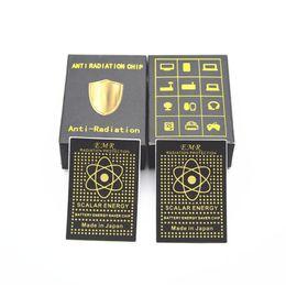 Wholesale electromagnetic radiation - 2018 Advance Technology Energy Saver Chip Anti Radiation Sticker Electromagnetic Radiation Shield DHL