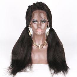 100% vierge de cheveux humains pleine dentelle perruques ? partir de fabricateur