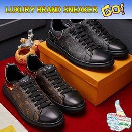 Wholesale Men Drivers Shoes - Top Quality Original Box Luxury Brands Designer Super Leather Sneaker FRONTROW Man Women Driver Casual Shoes boots hot Sale Classic