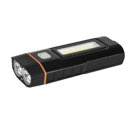 Wholesale Accessories Mtb Lamp - USB Rechargeable Bike Light Cycling Headlight Bicycle Light Front Torch Lamp Mountain MTB Waterproof Rding Accessories