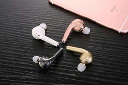 bluetooth v1 Promotion VOVG V1 Mini Bluetooth Écouteur CSR4.1 Sans Fil Musique Mains Libres Voiture Pilote Casque Téléphone Stealth Écouteurs Avec Microphone