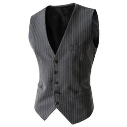 Wholesale Sleeveless Coats For Men - Men Vest Single Breasted Sleeveless Button Waistcoat For Man Tactical Down Jacket Winter Vests Unloading Coat