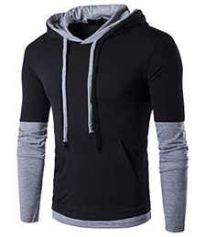 slim fit herren sweatshirts Rabatt Hoodie Männer Casual Lang / Kurzhülse Slim-Fit Hoodie Shirt Jacke Mantel Fleece Sportbekleidung Sweatshirts Designer-Trainingsanzug