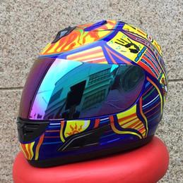 Wholesale Moto Racing Helmet - New arrival High quality Valentino Rossi motorcycle helmet MotoGp racing full face helmet motociclistas capacete moto cascos 9