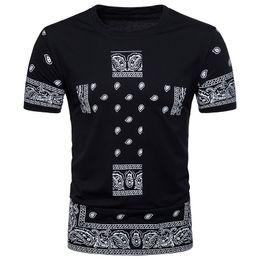 Wholesale West Side T Shirt - Men harajuku hip hop bandana kany west long t-shirt men side zipper extended t shirt oversized dress tshirt homme swag clothing
