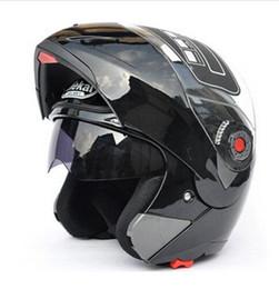 Kostenloser Versand! Safe Flip Up Motorradhelme Moto Helm Motocross MotorradSonnenblende JIEKAI-105 DOT ECE von Fabrikanten