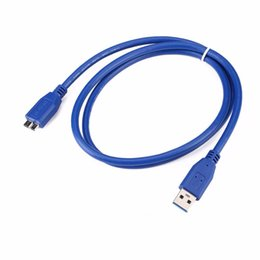 Wholesale usb drive desktop - 0.5m USB 3.0 A To Micro B Cable External Hard Drive Disk Wire Adapter High Speed