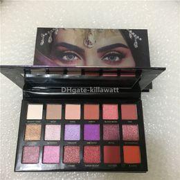 Maquillage CHAUD Beauté 18 couleurs Palette Ombre À Paupières Belle Nuances Pigmentées Ombre À Paupières Rose Or En stock ? partir de fabricateur