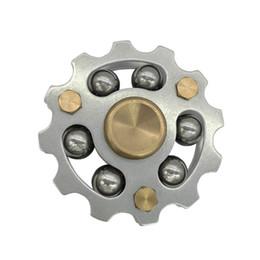 Wholesale ball spin - Premium Hot Wheel Metal Fidget Spinner Ceremic Bearing 5min Spinning CE RoHs EN71 Brass SUS Machined 6 Steel-Balls EDS Metal Spinners