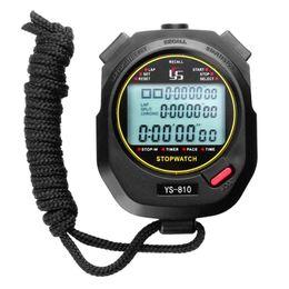 temporizador de funcionamiento Rebajas Cronómetro cronómetro profesional digital Multifuction Deportes al aire libre portátiles que ejecutan el cronómetro de entrenamiento Cronógrafo Cronómetro