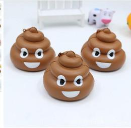 Wholesale Poo Soft Toy - Cute Poo Emoji Squishy 8.5CM Jumbo Soft Slow Rising Squeeze Stress Stretch Kid Toys Emoji Poo Squishy KKA3657