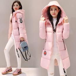 casaco modelo feminino Desconto 2018 nova jaqueta de inverno das mulheres jaqueta casaco longo para baixo casaco grande tamanho longo pato com capuz para baixo modelos femininos