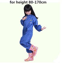 Wholesale rain ponchos for kids - waterproof raincoat for children pants Baby Rain Coat Pnocho kids Rainsuit Outdoor boys girl raincoats for children