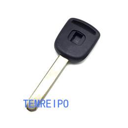Wholesale Transponder Chip For Honda - Uncut blade Car transponder key blank shell for honda accord fit city civic crv jade car chip key cover replacement key
