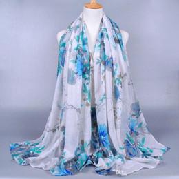 Diseñador de la marca Bufanda de moda Chal Bufandas de seda femeninas Flores de peonía Bufanda impresa Bufandas de playa para mujeres desde fabricantes