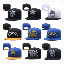 Wholesale Cheap Basketball Hats - Golden state Adjustable new warriors Snapback Hat Thousands Snap Back Hat For Men Basketball Cap Cheap Hat Adjustable men women Baseball Cap