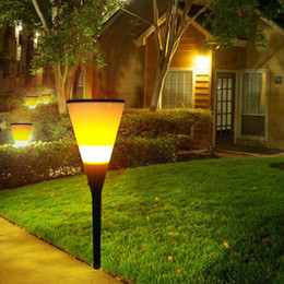 luz do tempo automático Desconto Ao ar livre Solar LED atmosfera lâmpada ao ar livre solar luzes LED Auto cobrando no tempo do dia de iluminação em noite fogo luzes copo de cerveja
