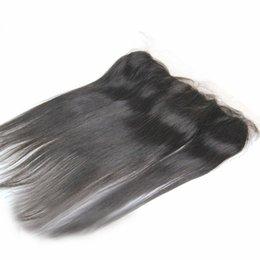 2019 новые пароли От уха до уха 13x2 100% девственных человеческого волоса кружева фронтальная шелковые прямые кружева перед закрытием
