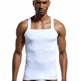 b85fc305623 Men  S Fashion Vest Cotton Tight Tank Top Home Sleep Casual Solid T -Shirts  Gay Sexy Asian Size Casual Sleeveless Garment sexy sleeping shirts promotion