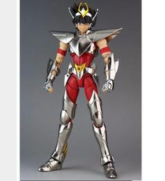 Wholesale Armor Models - Great Toys Pegasus V3 EX Bronze Saint Seiya metal armor model myth cloth action figure free shipping