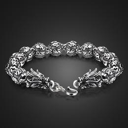 b54ea13726c3 Pulsera de plata al por mayor 925 Pulseras de moda de plata para hombres