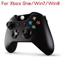 Xbox controller wireless para pc on-line-Controlador sem fio para microsoft xbox one joystick gamepad joypad + controle do receptor do pc para xbox one joystick gamepad sem fio