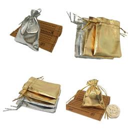 bolsos del favor de borgoña Rebajas Venta caliente 2 colores bolsa de lazo bolsa de embalaje de regalo Bolsas de joyería accesorios pequeños bolsa de almacenamiento T3C0053