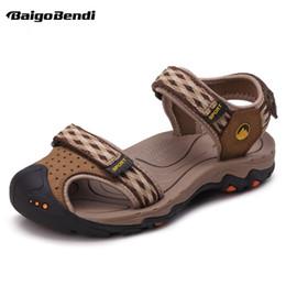 guida auto scarpa Sconti US Size Uomo Close Toe Hook Loop Sandali Uomo Estate Driving Car Shoes Scarpe da spiaggia traspiranti antiscivolo