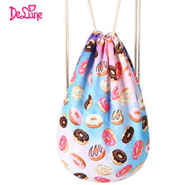 Wholesale Sort Shoes - Factory New Arrival Drawstring Large Portable Soft Travel Backpack Cartoon Shoes Sorted Bag Students Book Bag Soft Big Shoes