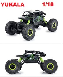 Wholesale 4x4 Vehicles - RC Car 2.4G 4CH 4WD Rock Crawlers 4x4 Driving Car Double Motors Drive Bigfoot Remote Control Model Off-Road Vehicle Toy