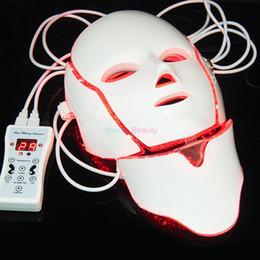 Wholesale Brand Bio - 2018 New Brand!!! Portable Korea 7 Colours Led PDT Bio-light Therapy Facial Rejuvenation Mask Beauty Machine For Home Use