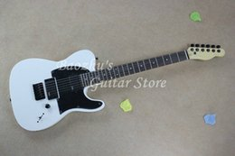 Wholesale white emg - F Electric Guitar, Jim Root Signature Guitar, Mahogany Body, Ebony Fingerboard, EMG pickup, White Telecaster