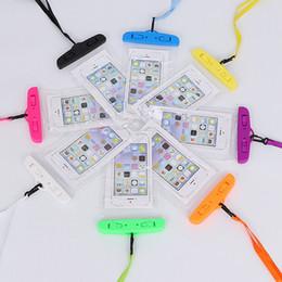 2019 iphone hüllen für strand 190 * 105mm universal wasserdichte strandtasche case für iphone 6 6 s 7 7 s 8 x samsung lg transparent pvc handy tasche wcc1 günstig iphone hüllen für strand