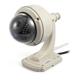 Cámara wifi ip66 online-HW0038 Plug Play Inalámbrico WiFi HD 720P IP CaPan / Tilt Gire IR Cut IP66 Cámara de CCTV de visión nocturna a prueba de agua al aire libre a prueba de agua