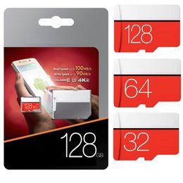 Wholesale Sd Memory Cards 128gb - 256GB EVO PLUS Micro SDXC USH-I Card Microsd 128gb 48mb s Memory Card SDD Class 10 w  SD Adapter
